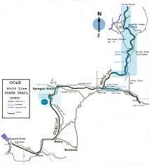 Klamath Falls Oregon Map by Oregon California And Eastern Trail Index2 Htm