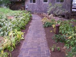 Down To Earth Landscaping by Down To Earth Landscaping Walkway With Plants Down To Earth