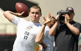 Hired Immediately Former South Carolina Qb Dylan Thompson Hired By Charleston