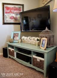 Living Room Entertainment Furniture Remodelaholic Turn An Entertainment Center Into A Tv Console Table