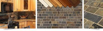 kitchen tile for backsplash multi color slate mosaic kitchen backsplash tile from backsplash