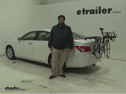2008 lexus es 350 review saris trunk bike racks review 2008 lexus es 350 etrailer com