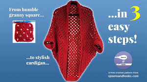 free crochet patterns for sweaters square cocoon cardigan sweater free crochet pattern