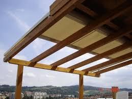 tettoia in legno per terrazzo lf arredo legno bologna pergolati tenda scorrevole