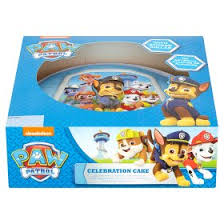 nickelodeon paw patrol celebration cake asda groceries
