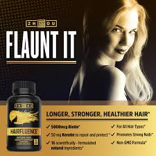 What Can I Do For My Hair Loss Amazon Com Hairfluence All Natural Hair Growth Formula For
