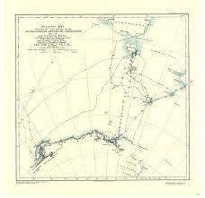 Aurora Map Sir Douglas Mawson 1882 U20131958 U2014 Australian Antarctic Division