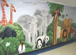 noah u0027s ark part 2 u2013 a bible story mural jesus is lord a