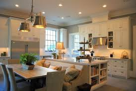 eat in kitchen island designs eat in kitchens design ideas to recent dining table trends
