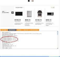 appliance fit the home depot community