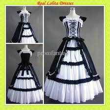 2016 cheap black and white real samples dresses custom made
