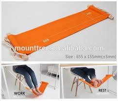 portable mini office foot rest hammock stand desk feet hammock