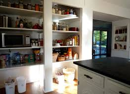 Kitchen Pantry Idea Open Kitchen Pantry Remodel And How To Keep It Pretty Small