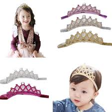 baby girl hair bands mookiraer 5pcs baby crown headbands toddler