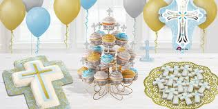 baptism confirmation and communion cake cupcake supplies