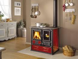 la nordica rosa reverse wood burning cook stove