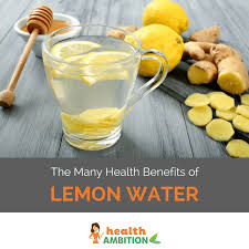 What To Drink Before Bed The Many Health Benefits Of Lemon Water