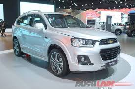 chevrolet captiva interior 2016 chevrolet captiva facelift at 2016 bangkok motor show live