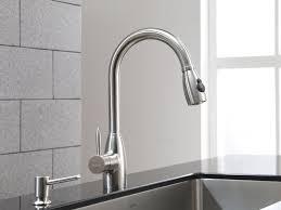touch faucet kitchen sink u0026 faucet delta touch faucet touchless kitchen faucet moen