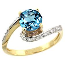 topaz gemstone rings images 10k yellow gold diamond jewelry color gemstone rings swiss blue topaz jpg