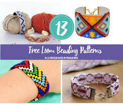 free bracelet beading patterns images Free loom beading patterns png