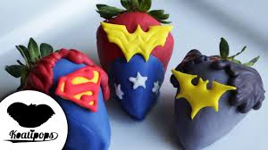 Where To Buy Chocolate Dipped Strawberries Justice League Strawberries How To Batman V Superman Dipped