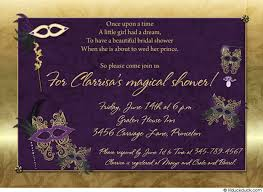 purple and gold wedding invitations gold bridal shower invitation magical purple wedding unique