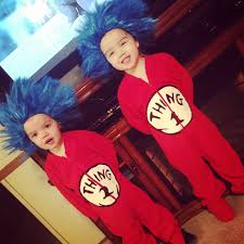 thing 1 u0026 thing 2 halloween costumes let u0027s celebrate dr seuss the multi tasking momma