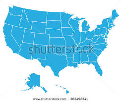 vector us map states free us map stock images royalty free images vectors
