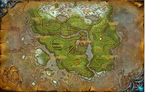 World Of Warcraft Map Wow Herbalism Guide 1 800 Herbalism Leveling Guide