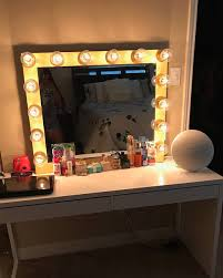 vanity mirror with lights ikea xl vanity mirror with lights bulbs not included perfect for ikea