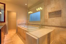 interior master bathroom remodel with cabins of glass designs
