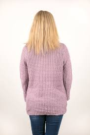cowl sweater one for all button cowl neck sweater in lilac spt80 boston