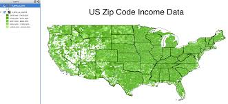 Zip Map The Wealthiest Zip Codes In America The Washington Post Usa