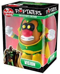 Potato Head Kit Disguise Marvel Avengers Pop Taters Vision 6 Potato Head Android