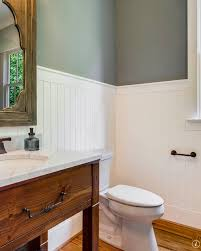 Paneling For Bathroom by Paneling Height For Low Ceiling