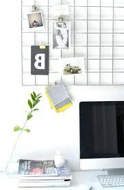 Wall Mounted Desk Organizer Diy Wall Mounted Desk L Home Office Memo Board Regarding Wall