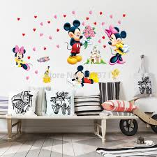Mickey Home Decor Zs Sticker Mickey Mouse And Minnie Mouse Wall Sticker Home Decor