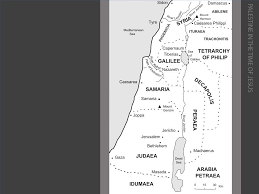 New Testament Map Free Bible Images Maps And Charts Giving A Background To The New