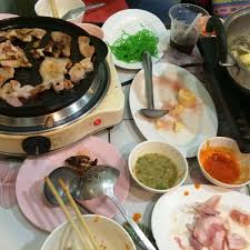 cuisine au barbecue photos à pp หม กระทะ restaurant de cuisine au barbecue à su thep