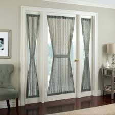 Hallway Door Curtains Small Front Door Window Curtains Curtain Rods And Regarding Decor