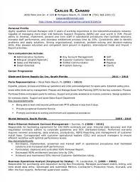 resume example for contract manager resume ixiplay free resume