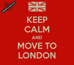 Meme London - keep calm and move to london look right turn left