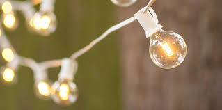 led globe string lights white wire led globe string lights