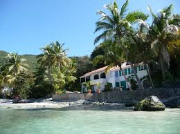 Beachfront Cottage Rental by Tortola Bvi Caribbean Villa Beachfront House Vacation Rental