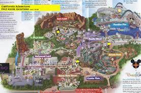 map of california adventure disneyland lessons tes teach