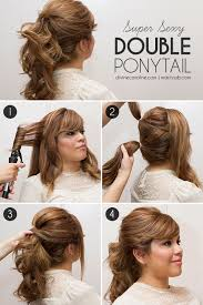 ponytail haircut where to position ponytail super sexy double ponytail double ponytail ponytail and hair style