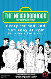 the neighborhood sketch comedy show u2014 the new movement