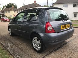 renault clio 1 2 petrol manual 2005 reg low milage 40k only mot