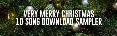 freeccm u0027s very merry christmas exclusive 10 song download sampler